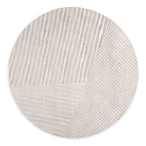 Northern Vloerkleed Row vloerkleed Rond / Light Grey 3220