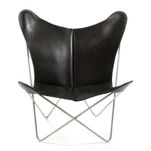 Afbeelding in Gallery-weergave laden, OX Denmarq Lounge stoel Trifolium Chair lounge stoel RVS / Black trifolium-5