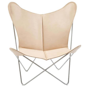 OX Denmarq Lounge stoel Trifolium Chair lounge stoel RVS / Nature trifolium-1