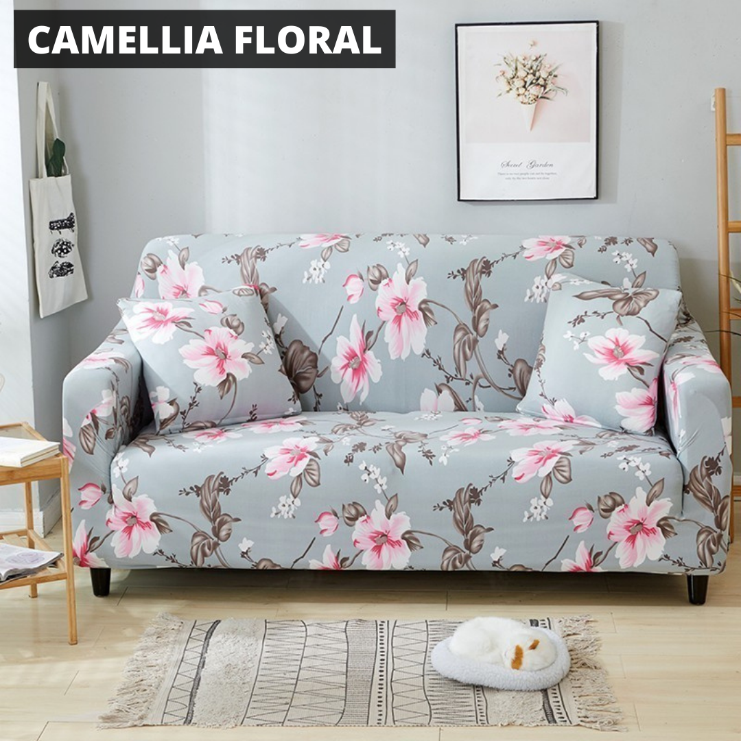 WonderCover™ Floral & Leaves Premium Sofa Cover
