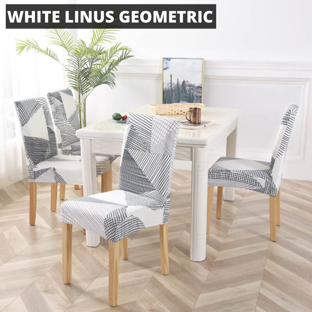WonderCover™ Geometric / Abstract Premium Dining Chair Cover