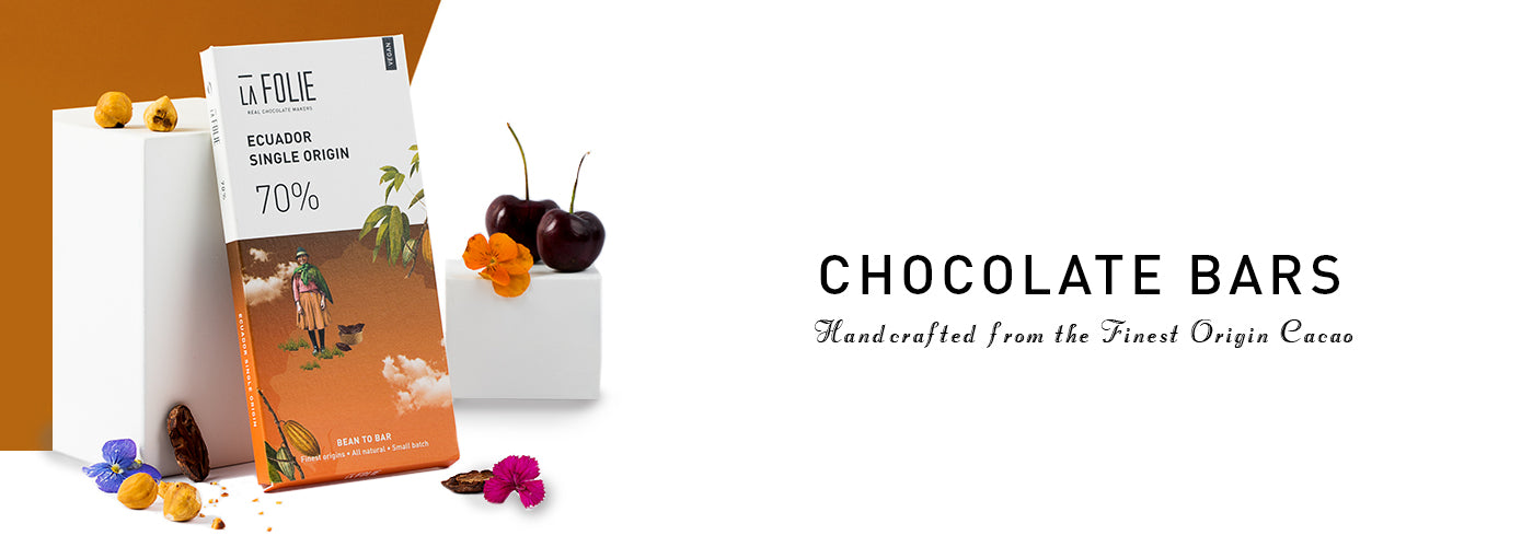 Handcrafted chocolates Bar in India
