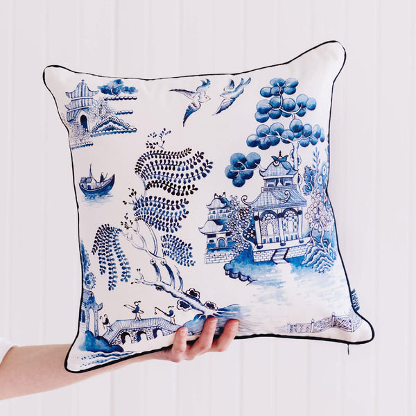 Willow Pattern Cushion