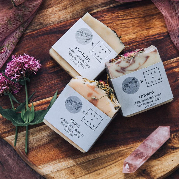 Natural Tea Infused Soaps