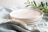 Organic Wheelthrown Dinner Plate Set