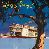 Lazy Days, River Murray Tours  - Vintage Travel Poster