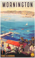 Mornington  - Vintage Travel Poster
