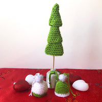 Mini Christmas Tree & Beanie Set