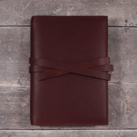 Leather Notebook Cover - A5 size