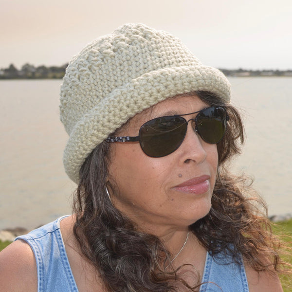 Hand-Crocheted Sun Hat