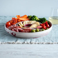 Wheelthrown Halo Serving Dish Set
