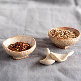 Ceramic Spice Pot and Scoop Set