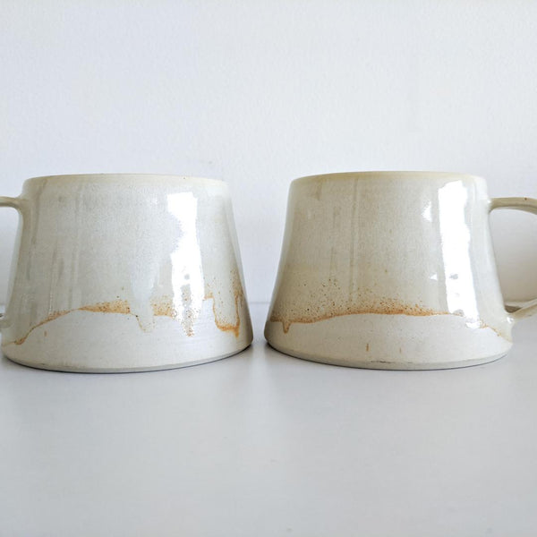 Cream / Shino Ceramic Mug