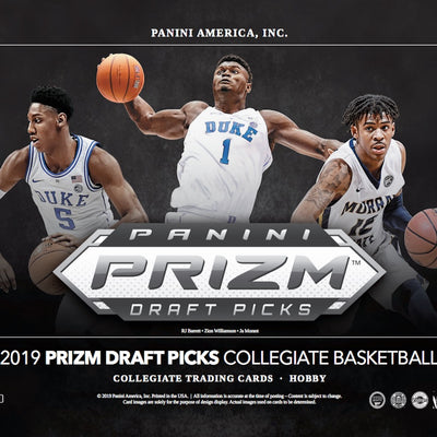 INSTANT PACK RIP: 2019/20 Panini Prizm Collegiate Draft Picks Basketball ID 19PRIZMCOLLBSK101