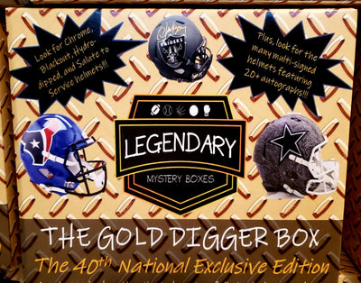 NATIONAL EXCLUSIVE: 2019 The Gold Digger Box 40th National Exclusive ID GOLDDIGGER107