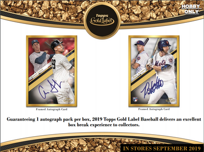RANDOM LOOSE BOX: 2019 Topps Gold Label Baseball ID GOLDLABEL102