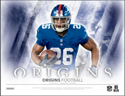 LOOSE BOX PICK YOUR TEAM: 2018 Panini Origins Football Hobby Box (Giants Bonus Random) ID 18PANORIGFB951