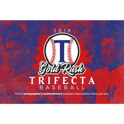 2019 Gold Rush Trifecta Baseball ID TRIFECTABB103