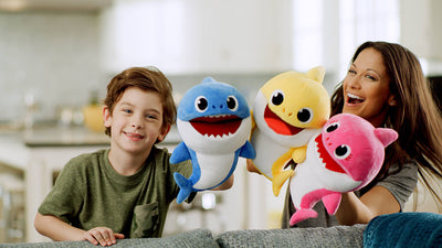 After Fingerlings Baby Monkeys Selling Out, WowWee Will Releases Baby Shark Fingerling