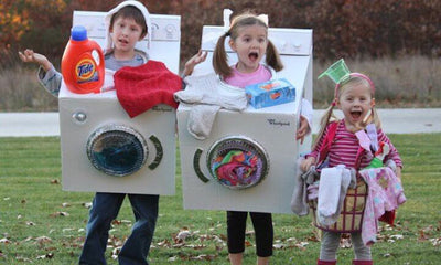 Homemade Halloween Costume Dress Up Ideas for Whole Family