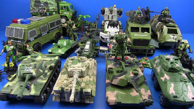 Battle in the Toy Box: Military Toys Explosive Popularity and Variety
