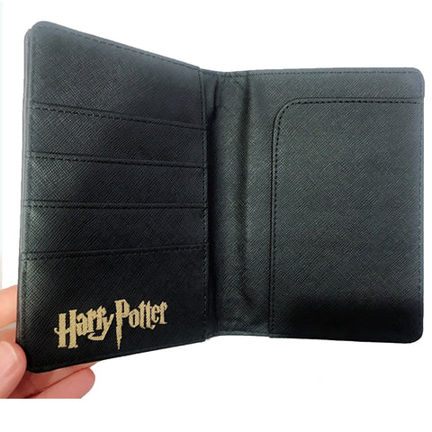 Exquisite Harry Potter Leather Passport Holder - 3 Otters
