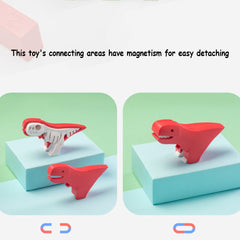 3otters Creative cute cartoon style dianosaur model