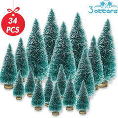 Mini Sisal Snow Frost Trees
