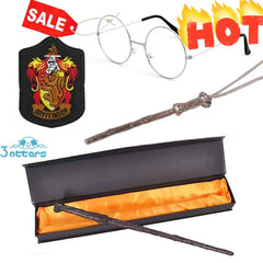 Harry Potter Wand Cosplay Accessories 4Pcs Set - 3 Otters