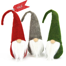 Load image into Gallery viewer, Swedish Santa Gnome Plush Toy 3PCS