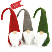 Swedish Santa Gnome Plush Toy 3PCS