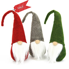Swedish Santa Gnome Plush Toy 3PCS - 3 Otters