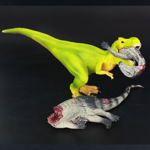 3otters Tenontosaurus remains model