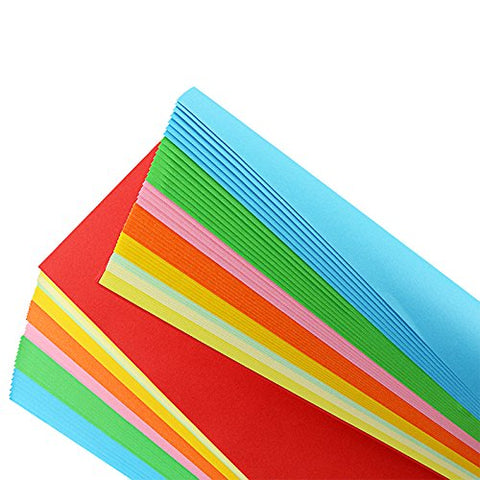 Color Copy Paper, Handmade Folding Paper Craft Origami Premium Quality Craft paper for Arts and Crafts - 3 Otters