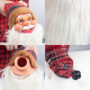 Red Wine Bottle Cap Santa Hats - 3 Otters