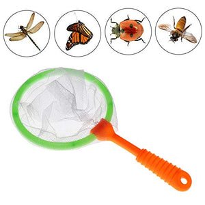 Durable Kids Bug Catcher Nets, 6PCS Insect Collecting Net Bath Toy Adventure Tool Early Learning Tool for Specimen Observation