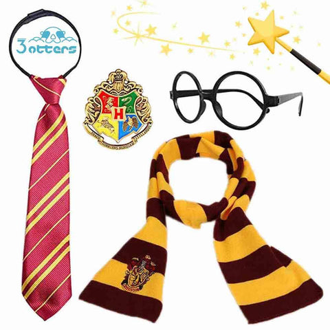 Harry Potter Dress Up Costume, Role Playing Magic Combination Set - 3 Otters