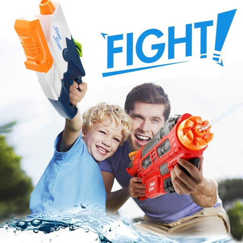 Water Guns for Kids, 2Pack Super Squirt Guns Water Blaster Set, Pool Toys for Kids Water Blaster Gun Beach Sand Outdoor Water Fighting Play Toys