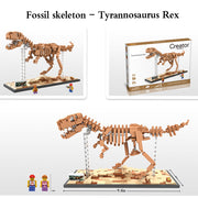 New Arrival Dinosaur Fossils Building Blocks