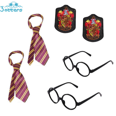 Harry Potter Cosplay Costumes Accessories 6Pcs - 3 Otters