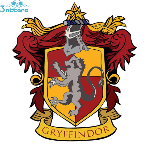 Harry Potter Hogwarts House Flags - 3 Otters