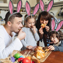 Load image into Gallery viewer, Gray Bunny Ears for Easter Day Party