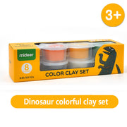 3otters flour clay with 8 different colors