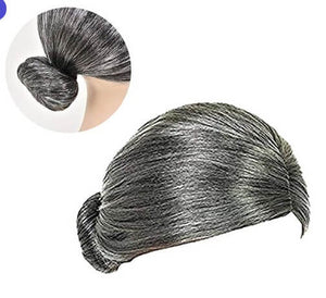 Old Lady Gray Costume Wig