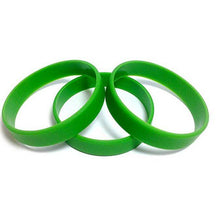 Load image into Gallery viewer, Green Silicone Wristband 02