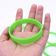 Load image into Gallery viewer, Green Silicone Wristband 04