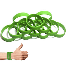 Load image into Gallery viewer, Green Silicone Wristband
