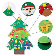 Felt Christmas Tree for Toddlers - 3 Otters