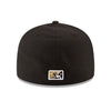 Charlotte Knights Official Black Home Cap