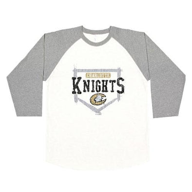 Charlotte Knights Kasota Youth Raglan